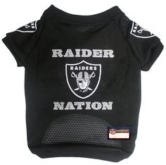 NFL Raider Nation Raglan Mesh Pet Jersey, Large ** Check out the image by visiting the link. (This is an Amazon affiliate link)