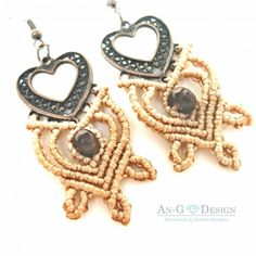 Hand Made Galatea Earrings