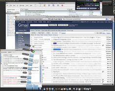 Cluttered desktop - digital clutter