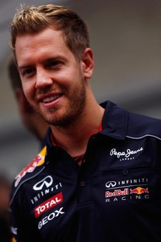 Formula One Pilot: Sebastian Vettel at the 2013 Formula 1 US Grand Prix, @ Circuit of the Americas, Austin Texas