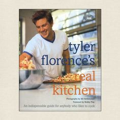 Tyler Florence's Real Kitchen Cookbook - Cookbook Village vintage and used cookbooks store online.