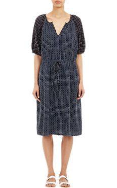 Lattice Meadow Dress