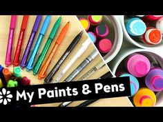"My Paints & Pens | Sea Lemon -- I love that she uses cheaper products and gets such amazing results.  She also uses ""made for"" products for other things.  Great info for beginners."