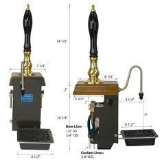 Cask Conditioned Dispensing Angram Clamp-On Beer Engine with water cooling
