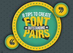 [Infographic] Font Pairing Tips You Wish You Knew Sooner