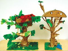 Tree House: Flights of Fancy | Scale model building is an ideal way for young people to explore the structure, form, and function of spaces simultaneously.