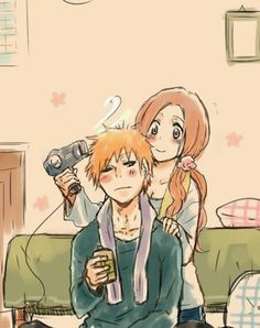 Find images and videos about love, bleach and Ichigo on We Heart It - the app to get lost in what you love. Bleach Manga, Bleach Renji, Shinigami, Ichigo E Orihime, Disney Pixar, Hot Anime Couples, Manga Anime, Anime Art, Bleach Couples
