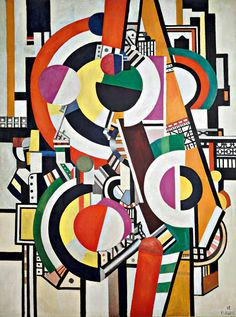 MoMA | Inventing Abstraction | Fernand Léger | Les Disques (The disks). 1918
