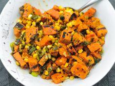 Grilled Sweet Potato and Corn Salad Recipe | Serious Eats