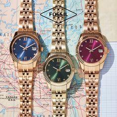 Η φθινοπωρινή σειρά Fossil⌚️ θα σε συνεπάρει! Προπαράγγειλε το δικό σου με έκπτωση🎫 έως 20% - μόνο για λίγες μέρες! Fossil Watches, Rolex Watches, Accessories, Jewelry Accessories