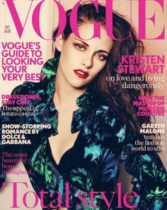 Kristen Stewart en la portada de Vogue UK
