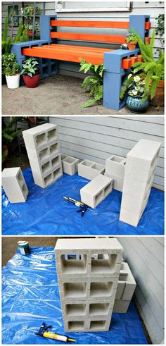 How To Build a Outdoor Bench - 110 DIY Backyard Ideas to Try Out This Spring & Summer - DIY & Crafts