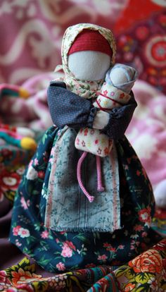 russian traditional doll handmade от LibelluleDO на Etsy