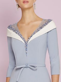 Column / Sheath Penetration Creams Knee Length Knit Dress Mother of the Bride …, # Column # … Elegant Outfit, Classy Dress, Elegant Dresses, Sexy Dresses, Beautiful Dresses, Dress Outfits, Evening Dresses, Fashion Dresses, Dress Shoes