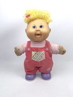 My First Steps Cabbage Patch Doll Walking Talking Play Along 2007 Cabbage Patch Kids Dolls, Cute Dolls, First Step, Babys, Walking, Play, Babies, Baby