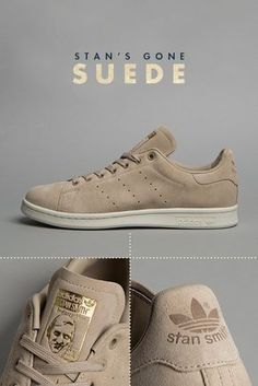 ef530e1f88c adidas Originals Stan Smith Suede Adidas Sneakers