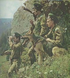 Soviet border guard