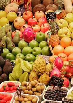 Farmers' market, Barcelona