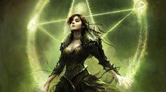 women druid illuminate artwork priestess orichalcus 1920x1080 wallpaper Art HD Wallpaper