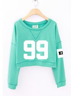Exo Cropped Sweatshirt