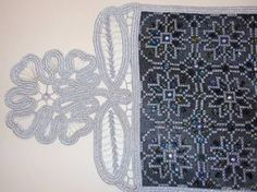 Gallery.ru / Фото #59 - ccc - ergoxeiro Beaded Embroidery, Cross Stitch Embroidery, Embroidery Designs, Point Lace, Repeating Patterns, Needlepoint, Beads, Zoom Zoom, Ph