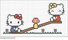 cross stitch - Hello Kitty