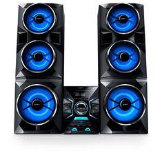 Home audio system / - A party for the senses / Stories / Sony Design / Sony Hifi Music System, Wireless Music System, Home Theater Speaker System, Audio System, Mini System, Cascade Lights, Sony Design, Dj Logo, Instagram Frame