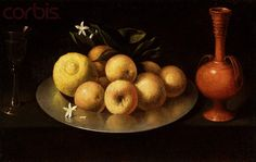 Still Life With Glass, Fruit, and Jar by the Circle of Francisco de Zurbaran