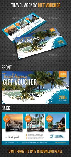 Travel Agency Gift Voucher Template PSD | Buy and Download: http://graphicriver.net/item/travel-agency-gift-voucher/9443666?WT.oss_phrase=&WT.oss_rank=42&WT.z_author=rapidgraf&WT.ac=search_thumb&ref=ksioks