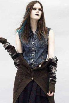 Beauty grunge fashion
