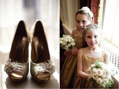 Gold + Ivory Vintage Wedding