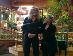 the day i did the eddie floyd show i met the famous singer lacy j. dalton such a sweet lady!