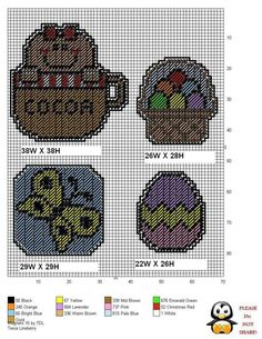 Gingerbread Girl in Cocoa Mug Ornament Plastic Canvas Coasters, Plastic Canvas Ornaments, Plastic Canvas Christmas, Plastic Canvas Crafts, Plastic Canvas Patterns, Needlepoint Patterns, Cross Stitch Patterns, Sewing Art, Canvas Designs