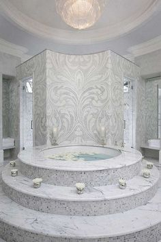 Master Bath Habachy Designs Inc. is an acclaimed interior and furniture design firm based in Atlanta,