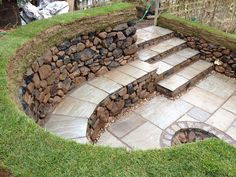 Using Retaining Wall Blocks Fire Pit How to Make a Fire Pit Using ...