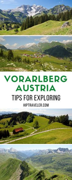 Tips for exploring Vorarlberg, a region in Austria known for its natural beauty and focus on spas and wellness. Things to do and see including hikes, walks, architecture, spas, restaurants and more. | Blog by HipTraveler #Austria #Europe