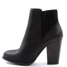 Pimkie.fr : Une boots à talon, sobre et féminine, qui fait figure d'essentiel.