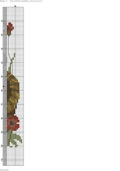 """Chick Girl"" Hummel cross stitch design - 2 of 3"