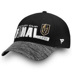 8b8db7274 Vegas Golden Knights Fanatics Branded 2018 Stanley Cup Final Bound  Adjustable Hat – Black