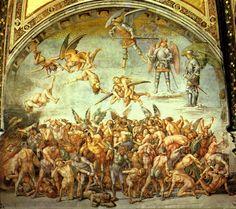 The Last Judgement   Luca Signorelli   1504   fresco   Duomo, Orvieto, Umbria, Italy