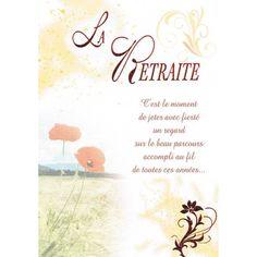 Modele Carte Gratuite A Imprimer Depart En Retraite Retraite
