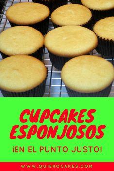 Cómo hacer cupcakes muy esponjosos Cake Icing, Cupcake Cakes, Man Cupcakes, Cake Recipes, Dessert Recipes, Desserts, Cop Cake, Porta Cupcake, Lemon Chiffon Cake