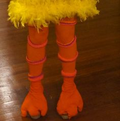Halloween DIY: Paulina's Big Bird Costume | Lauren Conrad …