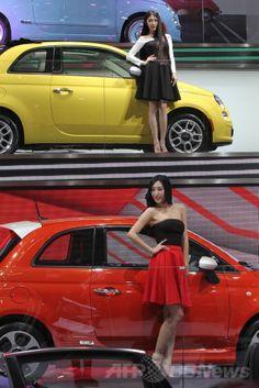 北京(Beijing)郊外の中国国際展覧センター(China International Exhibition Center)で開幕した「北京国際モーターショー(Beijing International Automotive Exhibition)」のフィアット(Fiat)のブース(2014年4月20日撮影)。(c)AFP ▼21Apr2014AFP 北京国際モーターショー開幕 http://www.afpbb.com/articles/-/3013150?pid=13548511 #BeijingInternationalAutomotiveExhibition