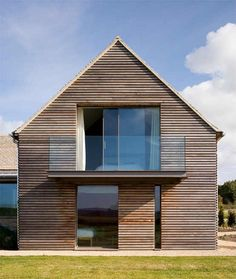 Contemporary House Design Renovated from Barn House - Modern House Design, Architecture, Home Plans - Viahouse. Contemporary Barn, Modern Barn, Modern Farmhouse, Modern Country, Modern Rustic, Country Style, Architecture Durable, Residential Architecture, Architecture Design