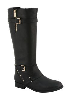 EXTREME by Eddie Marc Chase Studded Rider Boot on HauteLook