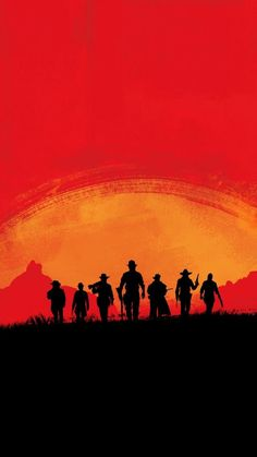Red Dead Redemption 2 iPhone Wallpaper Video Games Red