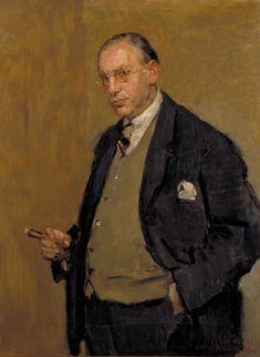 The Athenaeum - Portrait of Nehemia de Lieme (Isaac Israels - ) Renoir, Monet, Amsterdam, La Haye, Dutch Painters, European Paintings, Portrait Art, Male Portraits, Dutch Artists