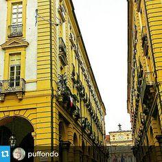 #Torino raccontata da puffondo per #inTO #into La casa con il piercing in #piazzacorpusdomini #gcpf904