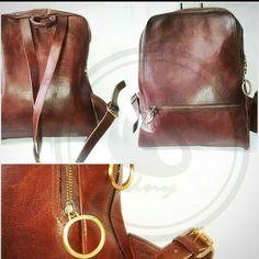 Tas kulit ransel  coklat tua  jenis kulit bisa menyesuaikan budget  produsen tas kulit dan kerajinan yogya pin 7FB5A772
